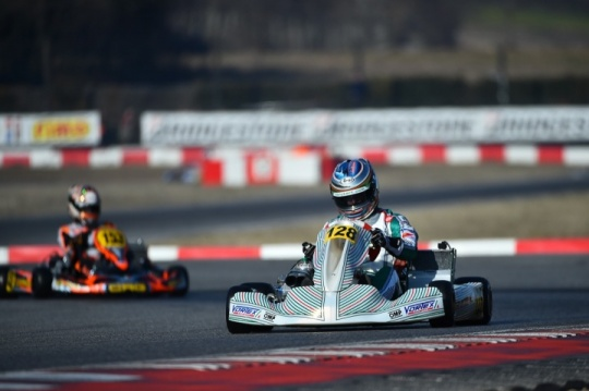 Turney and Ardigò takes podium positions in Winter Cup