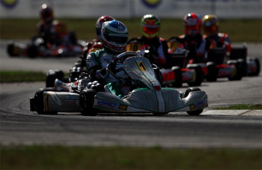 World Podium for the Tony Kart Racing Team