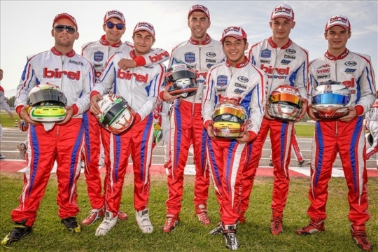 Excellent performances and good results for Birel