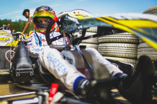 Tom Braeken: it's time to race again!