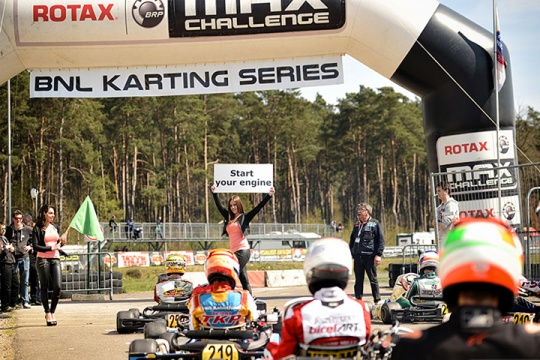 BNL Karting Series first round at the circuit of Genk