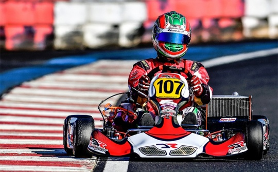 Another double win in Brazil for the DR Kart-Modena Engines with Bruno Grigatti