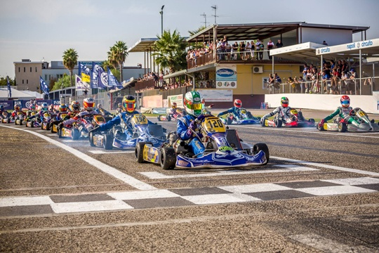 3 drivers in the top 10 of CIK-FIA World Championship