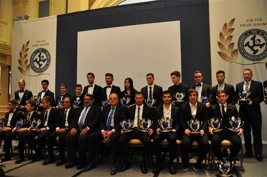 2016 CIK-FIA prize-giving ceremony in Wien