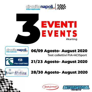 Circuito Internazionale Napoli: Testing in August