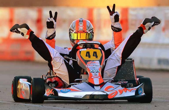 Sodi's Victory at Las Vegas Concludes an Extraordinary Year
