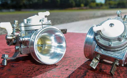 Two new Tillotson carburettors for Rotax engines