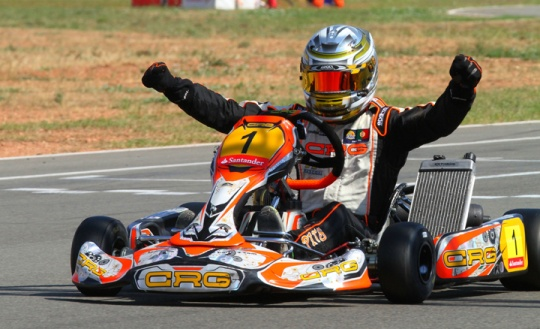 CRG crowned champion  in Spain and Portugal with Andrij Pits