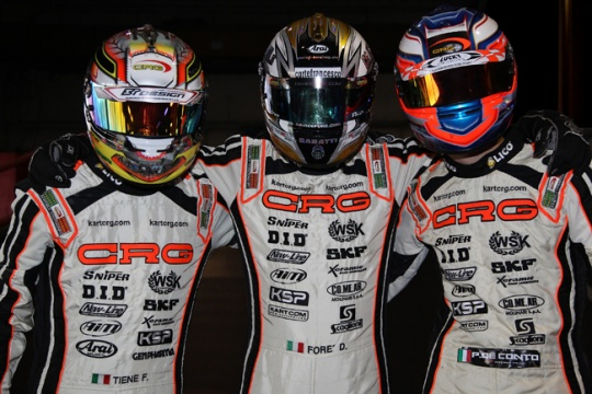 CRG works team for 2015