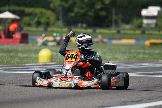 CRG and Lukasz Bartoszuk triumph in DD2 at the ROTAX Euro Challenge