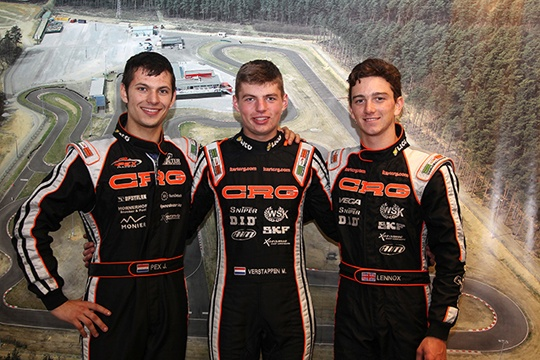 CRG's one-two-three in qualifying of the second round of the European KZ Championship
