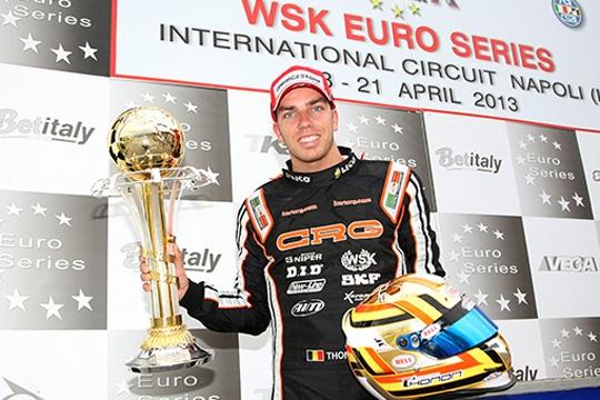 CRG on the KZ1 podium with Thonon
