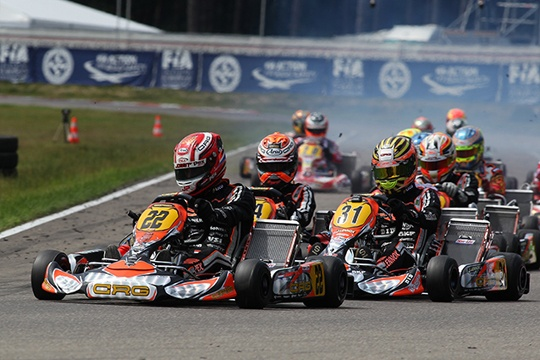 STELLAR CRG IN GENK'S HEATS WITH VERSTAPPEN AND LENNOX