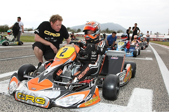 Crg with Verstappen in Northern Italy