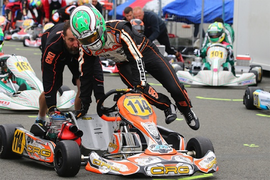 CRG heading to PFI with the World Championship won in Wackersdorf under its belt