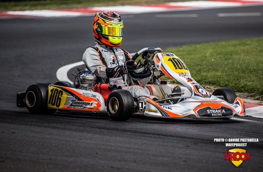 Ilott and Nielsen on front row for KF prefinal