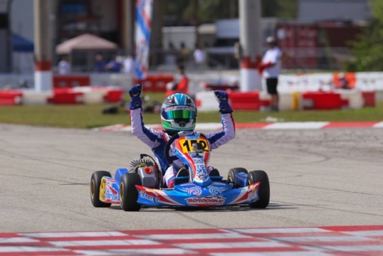 Jak Crawford claims Florida Winter Tour Championship in Vortex Mini ROK
