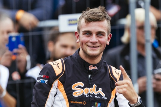"""Alex Irlando is the new FIA Central European Zone 2017 """"Talent of the Year"""""""