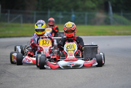 Antonsen wins the KZ2 Championship over Johansson