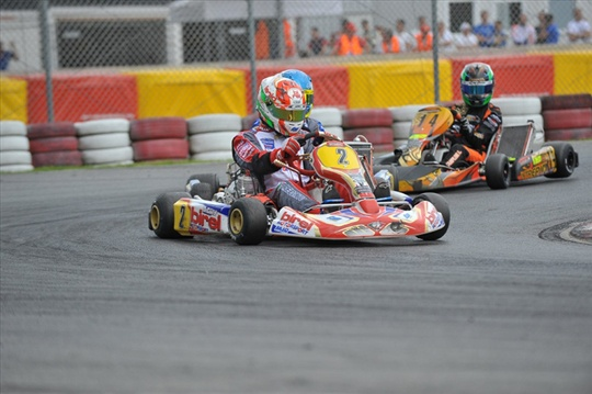 HARD WEEKEND FOR BIREL DRIVERS AT 1ST EURO KZ RACE