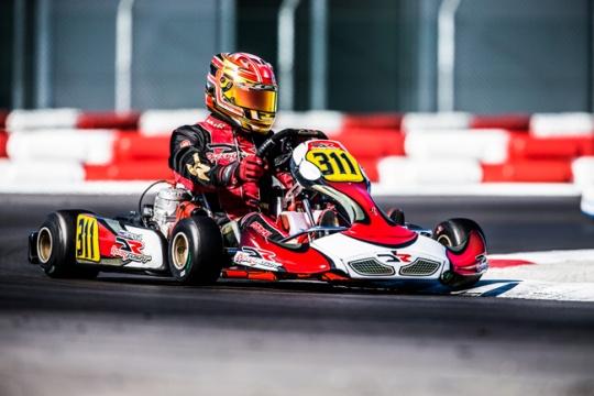 DR Racing hits the podium at WKS opener