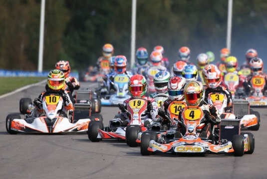 CIK-FIA Int. KZ World Championship, Kristianstad – Final