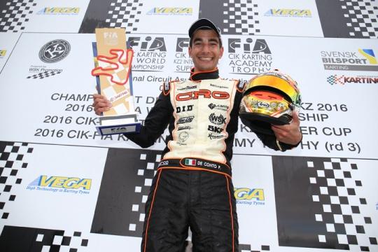 CRG dominates the KZ and KZ2 World Championships in Sweden