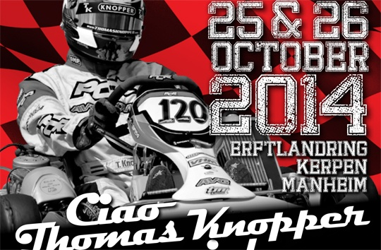 Top drivers already registered for the Ciao Thomas Knopper Memorial