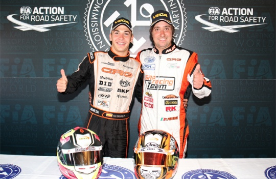 CRG, European Champions  with Hiltbrand in OK and Federer in KZ2