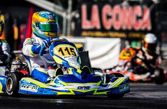 A memorable race at the World Championship in La Conca