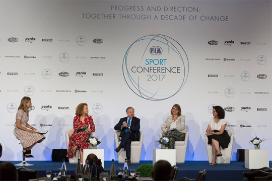 CRG present at the 2017 FIA Sport Conference
