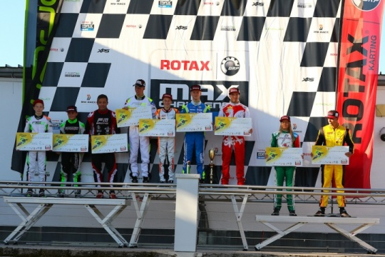 Rotax MAX Challenge Euro Trophy celebrates its first champions