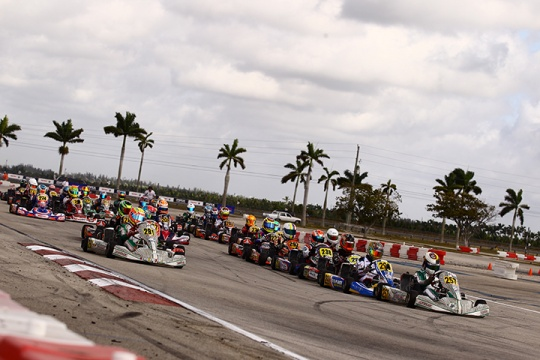 FWT Rotax MAX Challenge, Homestead - January 22 2017, 1st round