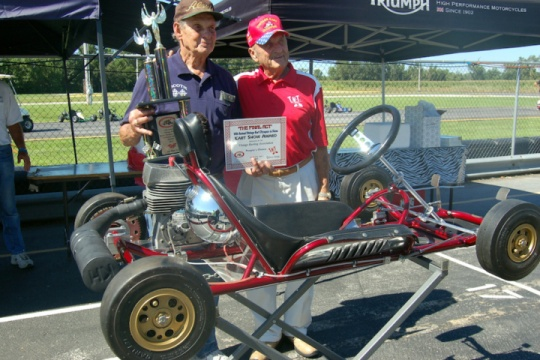 Quincy Karting legend Gus Traeder dies at age 90