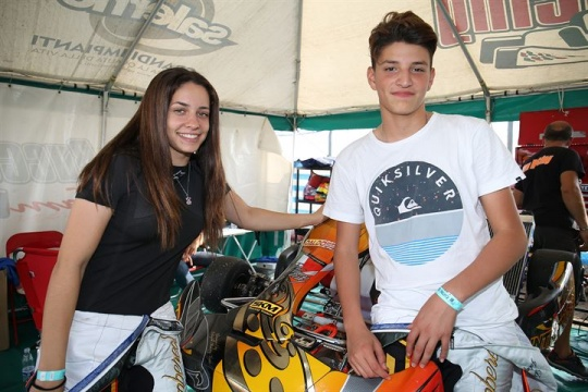 Marta Garcia Lopez joins the Italian ACI Karting Championship in KZ2 class.