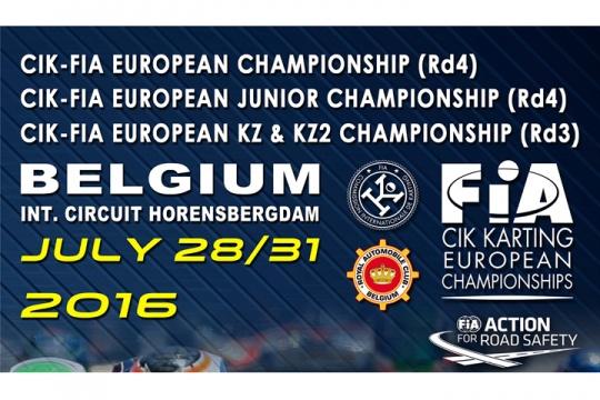 CIK-FIA European Championship KZ - KZ2 - OK - OKJ in Genk (B)