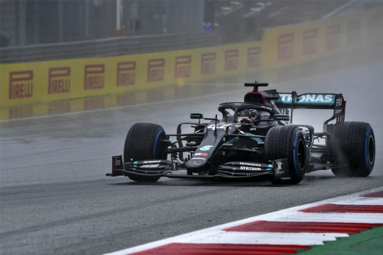 """Hamilton: """"Special lap, but in karts it was even worse"""""""