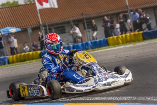 Praga Kart Racing Team after WSK in Castelletto