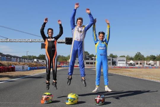 Rotax Max Euro Challenge, Salbris - Heats