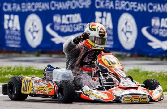 Crushing victory for CRG  at the European Championship in Adria
