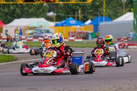 Quadruple podium for DR chassis in Romania