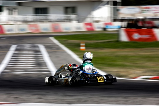 Gamoto in Siena for the third round of ACI Karting
