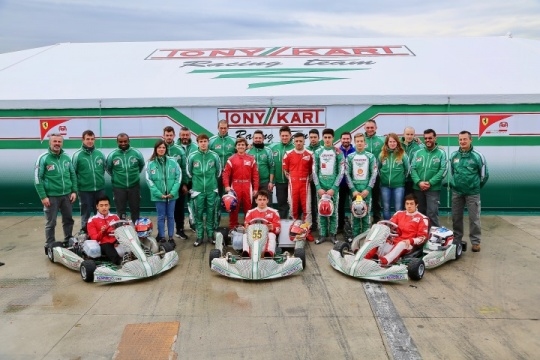 FERRARI DRIVER ACADEMY - TONY KART RACING TEAM CAMPUS IN ADRIA