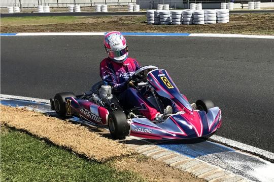 Bathurst champion to tackle Australian Kart Championship