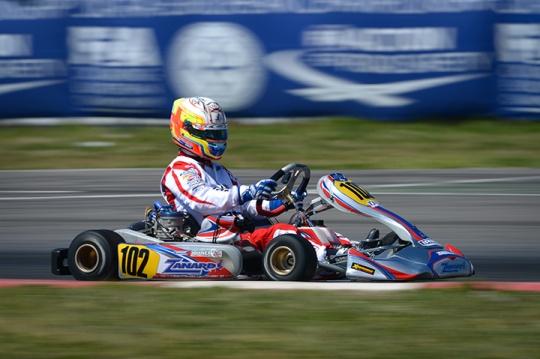 Tom Joyner will line up in Monarto for the Australian Kart Championship round