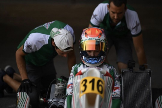 Good progress for Rehm in the debut race in Sarno