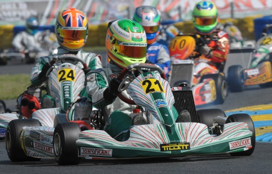 Former European Karting Champion joins leading sports agency as talent scout