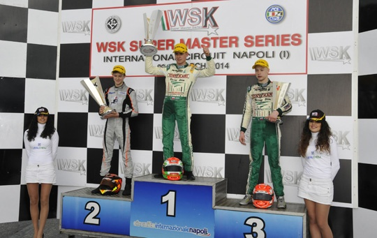 Spectacular WSK races on the water in Sarno