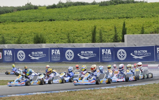 The race for the KF and KFJ European Championships starts in Ortona