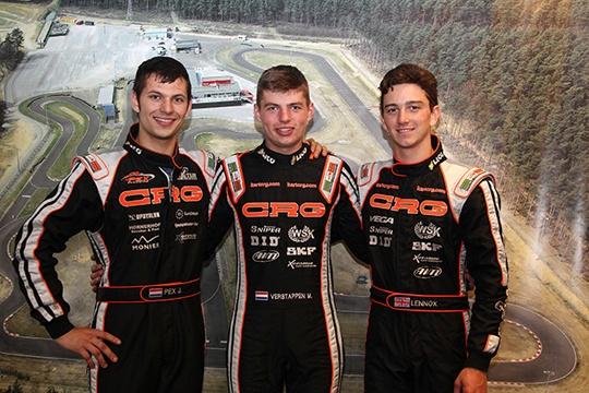 Crg dominates the KZ qualifying